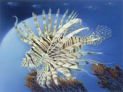 Lion Fish-Durwood Coffey-Giclee Print