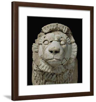 Lion Guard Door, Found Near the Temple of Inshushinak--Framed Giclee Print