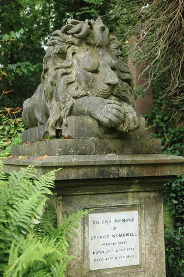 Lion, Highgate West--Photographic Print