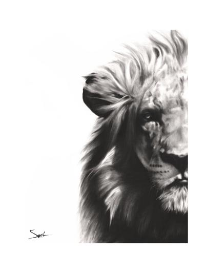 Lion II-Eric Sweet-Art Print