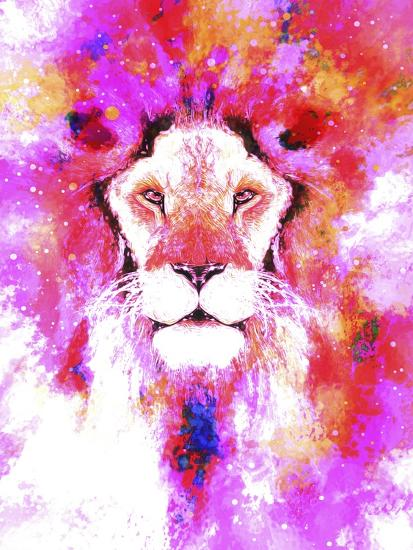 Lion Mix 2-XLI-Fernando Palma-Giclee Print