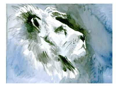 Lion Portrait-Suren Nersisyan-Art Print