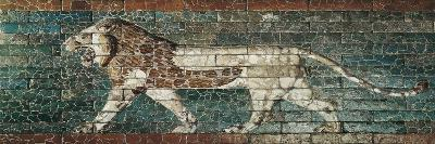 Lion Representing Ishtar, Frieze from the Processional Way Leading to the Great Temple at Babylon--Art Print