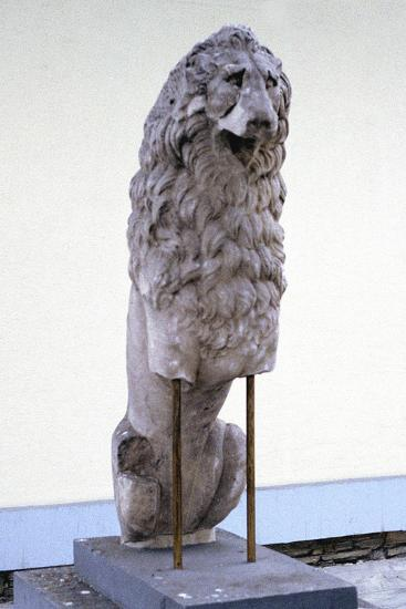 Lion, Symbol of the Royal House of Macedonia, 9th-4th Century Bc--Photographic Print