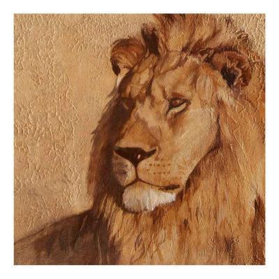 Lion-A. Vargas-Art Print