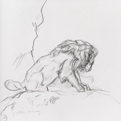 Lion-Gustave Moreau-Giclee Print