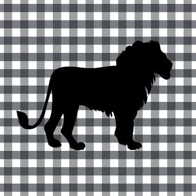 Lion-Linda Woods-Art Print
