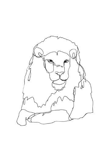 Lion-First Avenue Doodlers-Premium Giclee Print