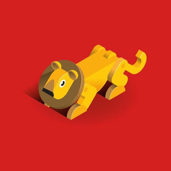Lion-Bo Virkelyst Jensen-Art Print