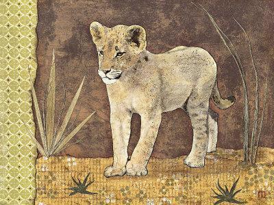 Lionceau-Gwena?lle Trolez-Art Print
