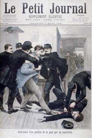 Assassination of a Policeman by an Anarchist, 1895