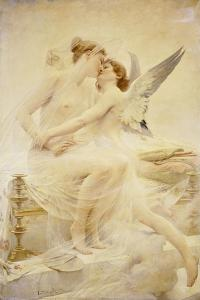 Cupid and Amor by Lionel Noel Royer