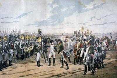 Napoleon at Tilsit, 1807