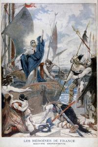 St Genevieve, Heroine of France, 1896 by Lionel Noel Royer