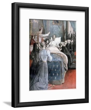 The Death of the Comte De Paris, England, 1894