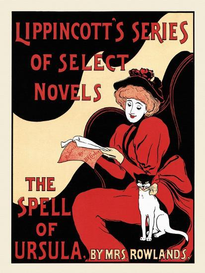Lippincott's Series Of Select Novels. The Spell Of Ursula, By Mrs. Rowlands.--Art Print
