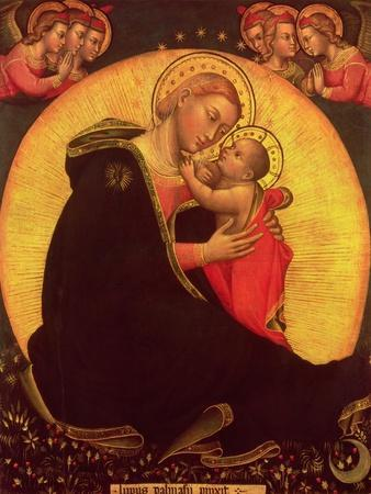 The Madonna of Humility, 1390-1400