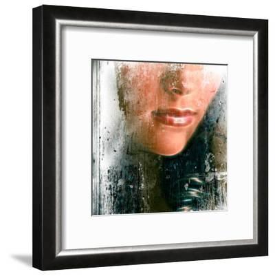 Lips-Jean-François Dupuis-Framed Art Print