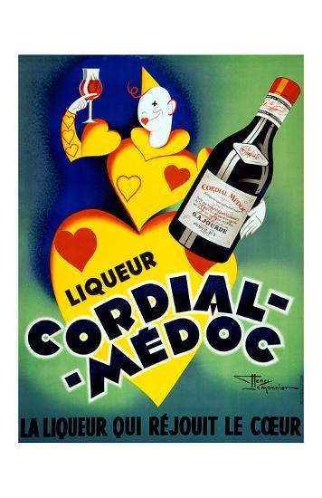 Liqueur Cordial Medoc--Giclee Print