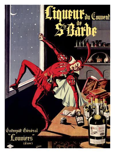 Liqueur Ste. Barbe- Conchon-Giclee Print
