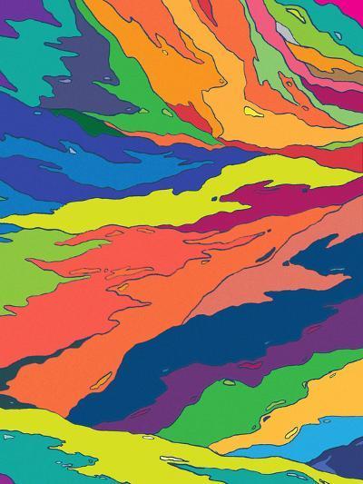 Liquid Camo-Joe Van Wetering-Art Print