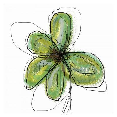 Liquid Flower II-Jan Weiss-Art Print