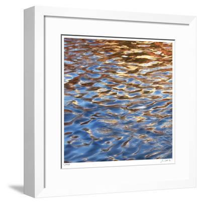 Liquid Gold Square 2-Joy Doherty-Framed Giclee Print