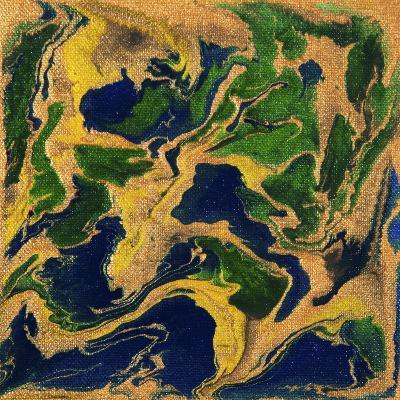 Liquid Industrial IIII - Canvas V-Hilary Winfield-Giclee Print