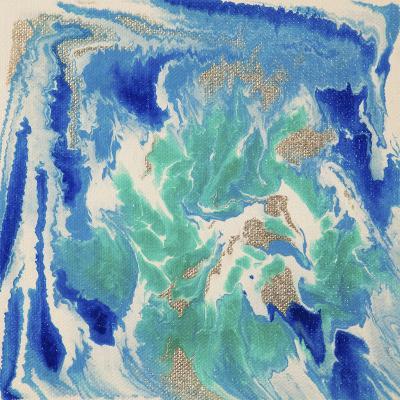 Liquid Industrial IIII - Canvas XVII-Hilary Winfield-Giclee Print