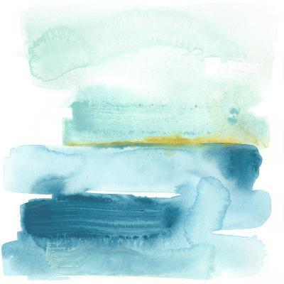 Liquid Shoreline I-June Vess-Premium Giclee Print