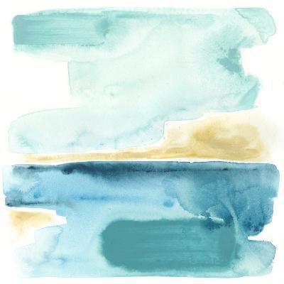 Liquid Shoreline III-June Vess-Premium Giclee Print