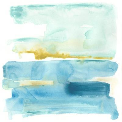 Liquid Shoreline V-June Vess-Premium Giclee Print