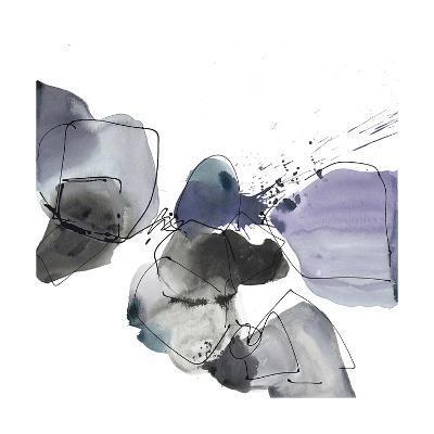 Liquid Stone 1-Lora Gold-Art Print