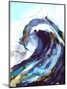 Liquid Wave 1-Megan Swartz-Mounted Premium Giclee Print