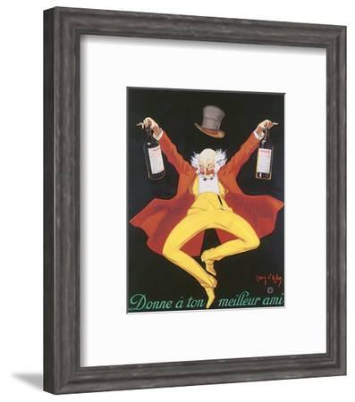 Liquor, Donne A Ton Meilleur Ami-Jean D' Ylen-Framed Art Print