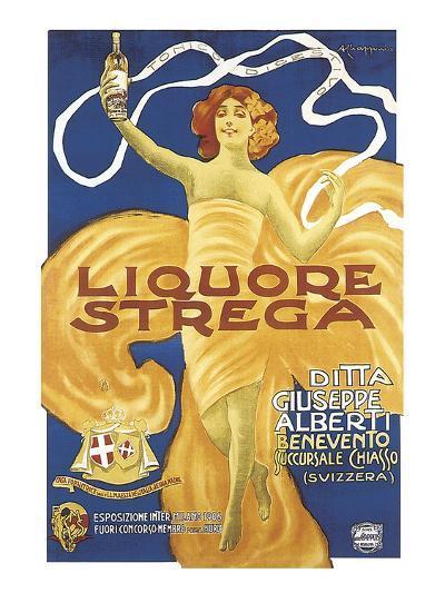 Liquore Strega-Alberto Chappuis-Art Print