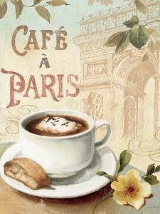 Cafe in Europe I by Lisa Audit