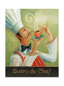 Cafe Moustache I by Lisa Audit