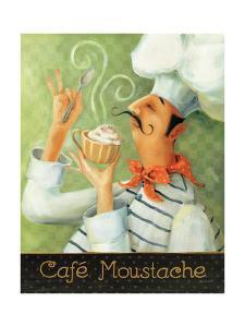 Cafe Moustache II by Lisa Audit