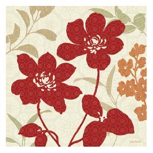 Floral Shadows I by Lisa Audit