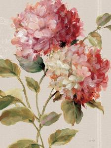 Harmonious Hydrangeas Linen by Lisa Audit