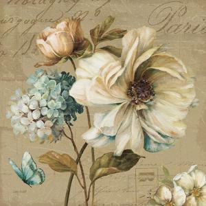 Marche de Fleurs Blue II by Lisa Audit