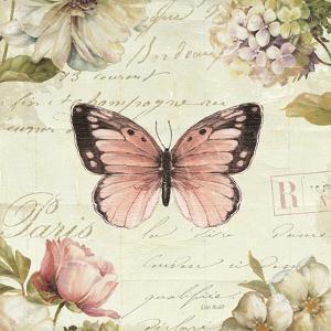 Marche de Fleurs Butterfly I by Lisa Audit