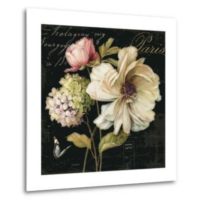 Marche de Fleurs on Black II by Lisa Audit