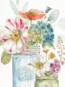 Rainbow Seeds Flowers IX by Lisa Audit