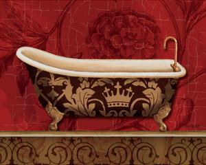 Royal Red Bath II by Lisa Audit