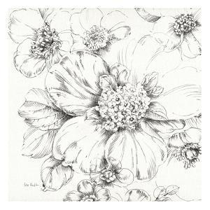 Summer Bloom III BW by Lisa Audit