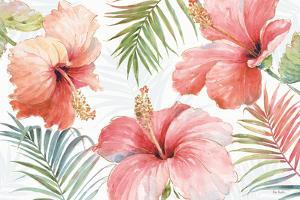 Tropical Blush I by Lisa Audit