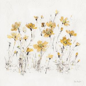 Wildflowers III Yellow by Lisa Audit