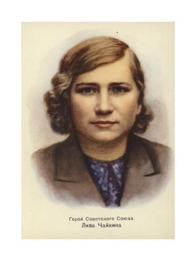 Lisa Chaikina, Russian World War II Partisan--Giclee Print